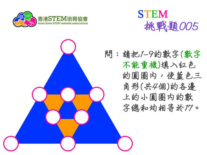 STEM挑戰題005
