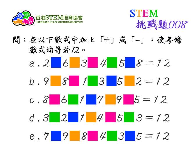 STEM挑戰題008