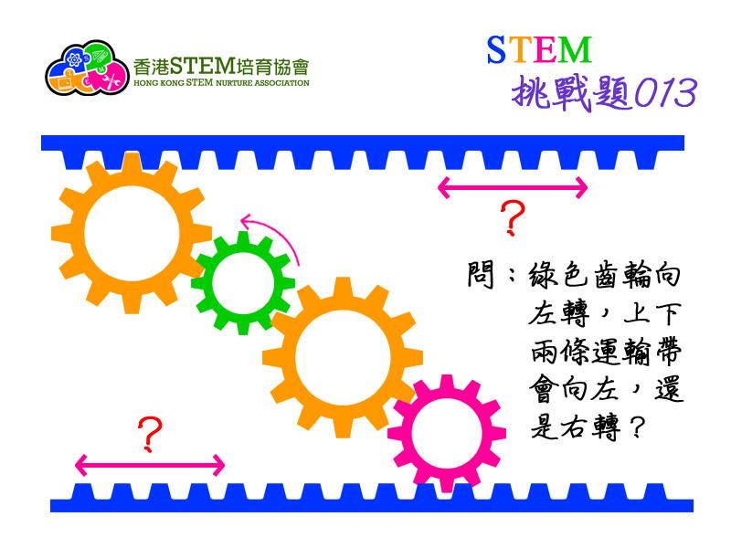 STEM挑戰題013問題