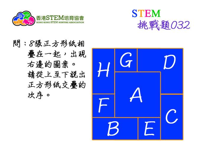 STEM挑戰題032