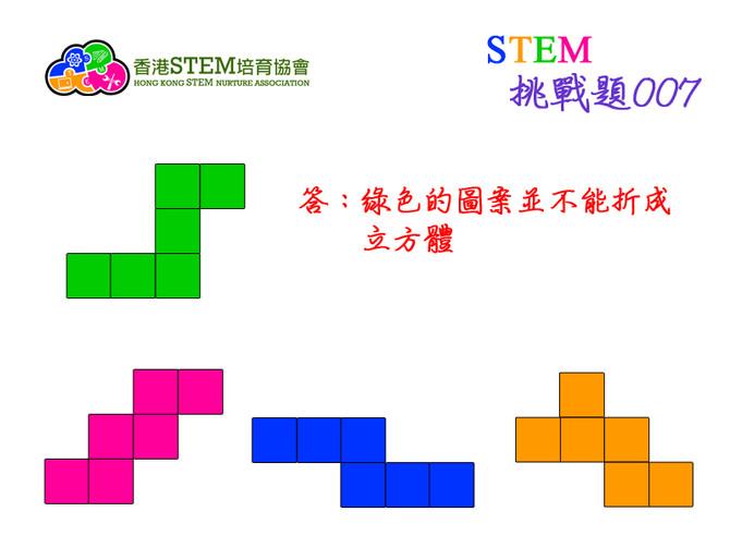 STEM挑戰題007