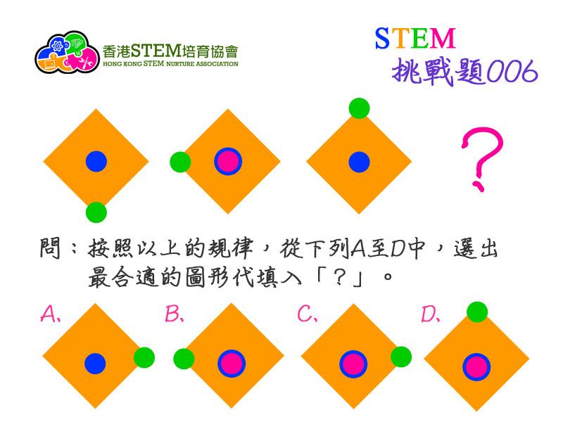 STEM挑戰題006問題