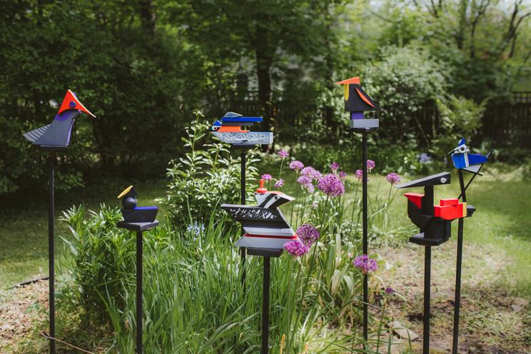 Cubist Birds