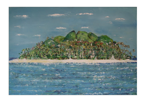 Acrylic oil painting on cavas 27.5*39.3 (Inches)