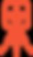 narancssárga nyomtatófej piktgram