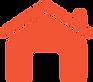 irodai körülményeket szimbolizáló piros ház