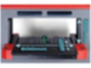 Compress iuv600s uv nyomtató tálcája a nyomtatóterület méret paramétereivel