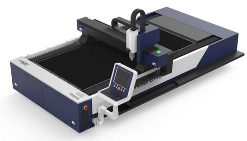 XLASE G3015C fiber lézervágó gép felülnézetben