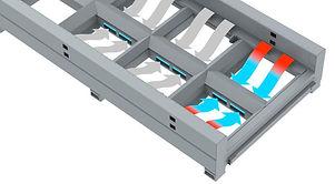 xlase g3015x fiber lézervágó füstelszívási rendszerének működési rajza