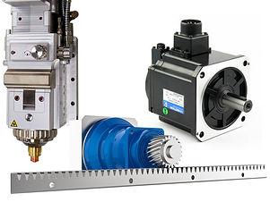 g3015h fiber lézervágó gép alkatrészek, szervmotor, lézerfej, alumínium főtengely gerenda