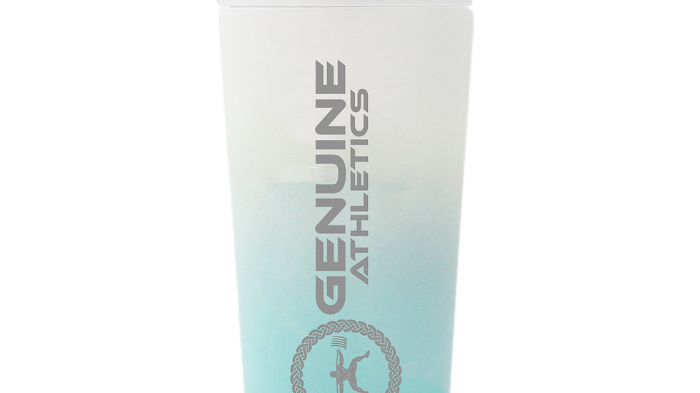 Premium Stainless Steel Shaker Cup (Mint/ White)