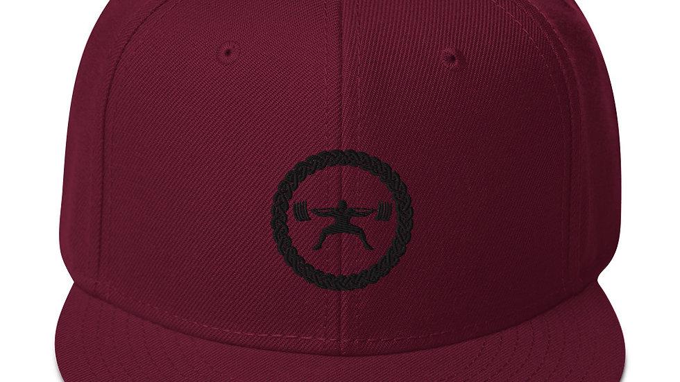 Midnight Snapback Hat