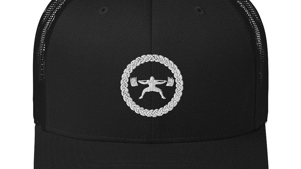 Trucker Hat - White Stitch Logo