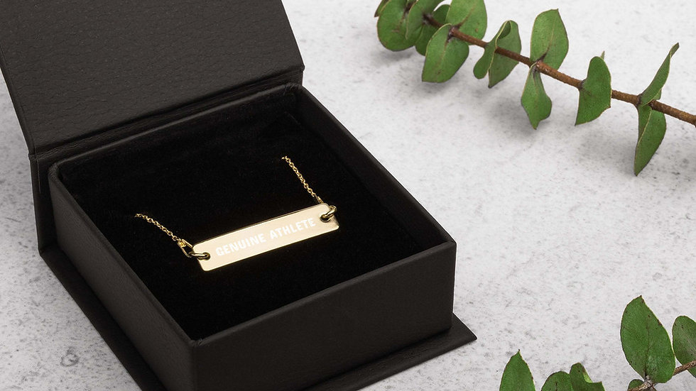 Engraved Athletes Necklace