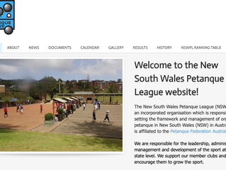 New Website for NSW League