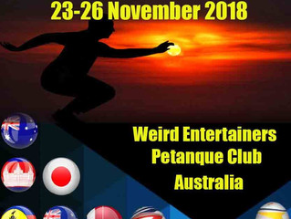 Pan Pacific this weekend at Weird