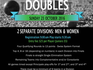 Victorian Championship Doubles