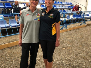 Results from the World Championships in Almeria, Spain 2019