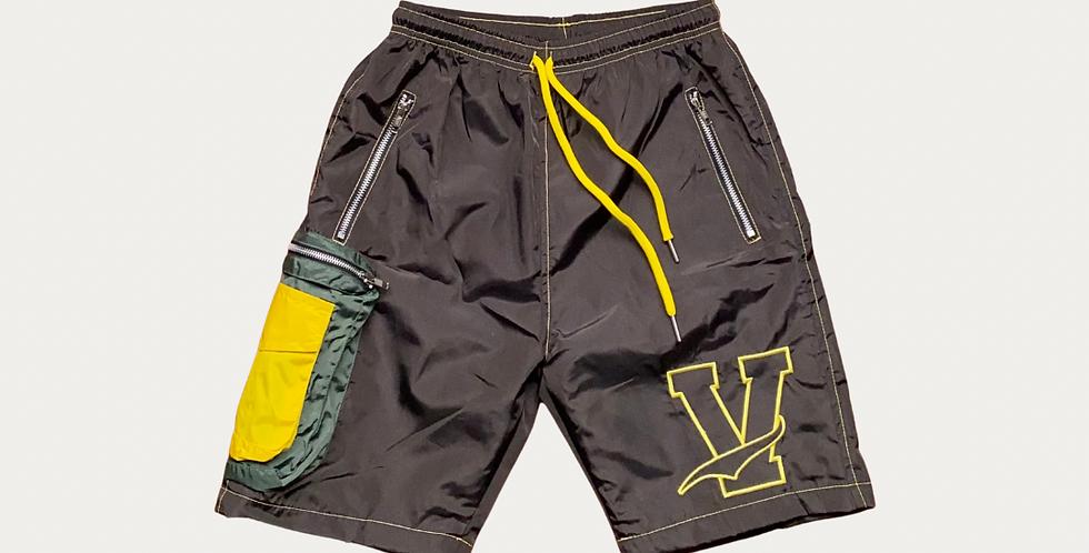 Nylon Utility Shorts