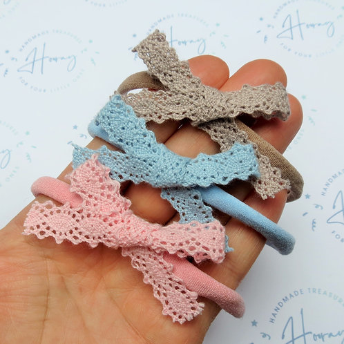 Crochet Lace Bows