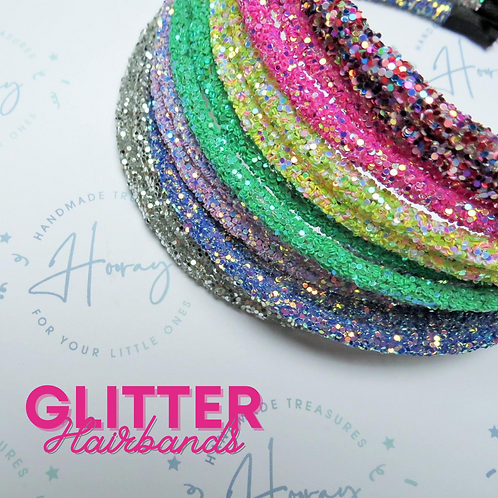 Glitter Hairbands