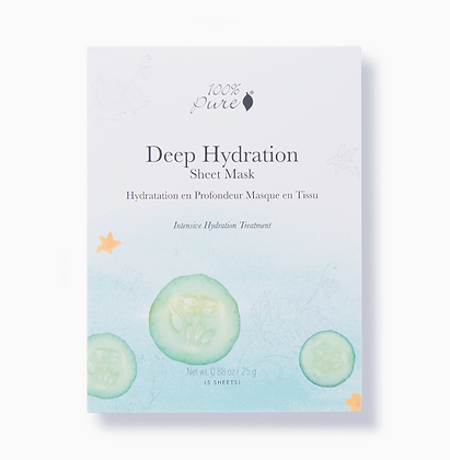 100 % Pure Deep Hydration Naamio