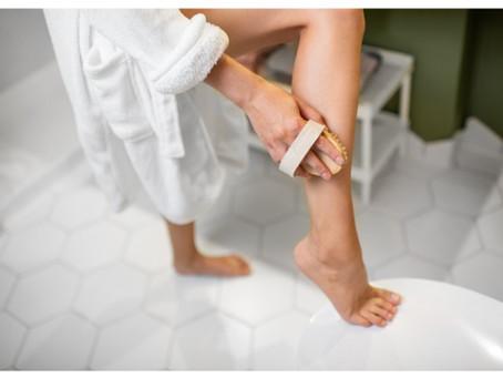 Kuivaharjauksella iho pehmeäksi