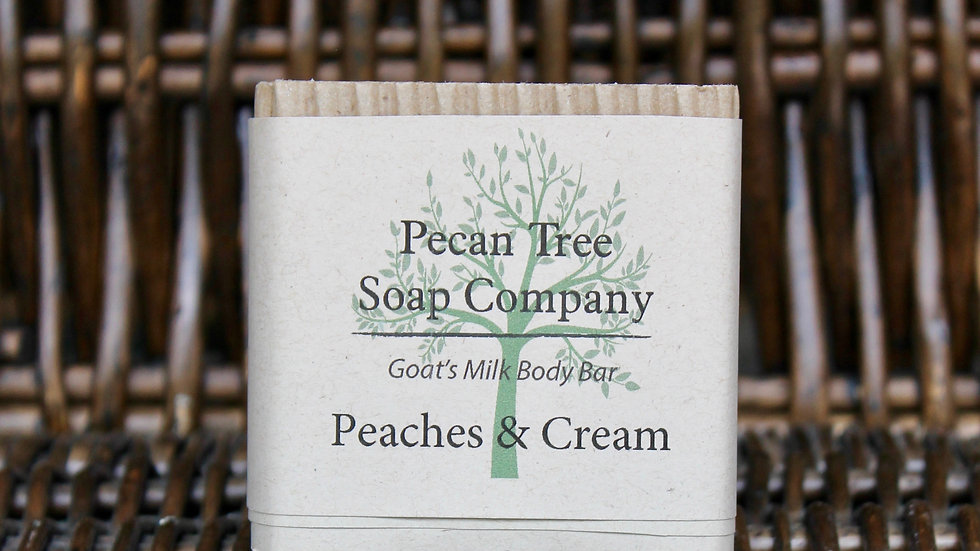Peaches & Cream Body Bar