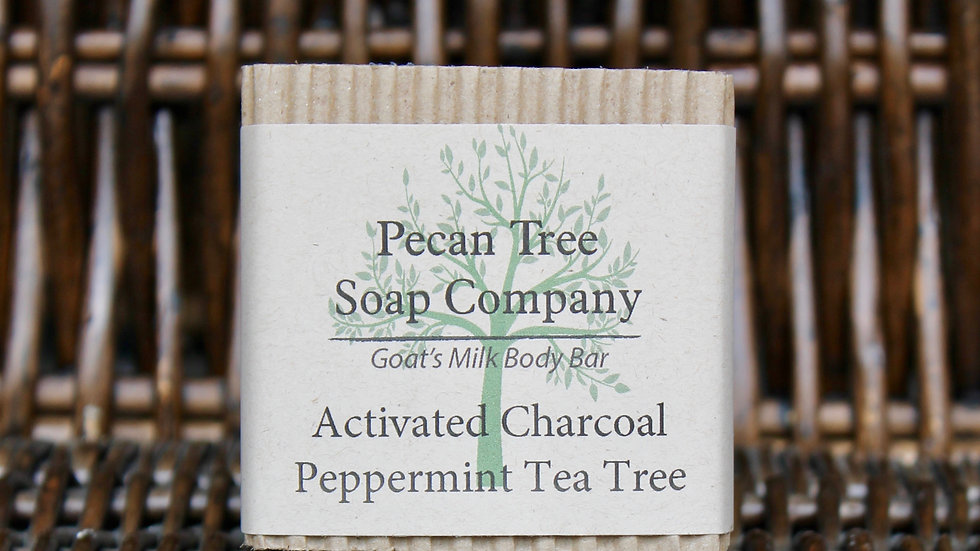 Activated Charcoal Peppermint Tea Tree