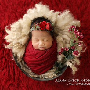 Baby and Newborn Photography Melbourne - Adding colour to your newborn session