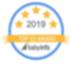 Top 10 Photographer Award Badge 2019 - W