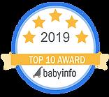Top 10 Photographer Award Badge 2019 - W