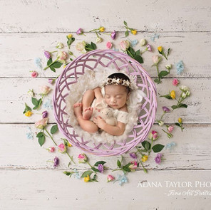 Florals for your Newborn Photography Session