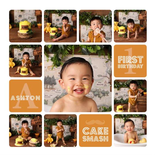 Winnie the Pooh Cake Smash