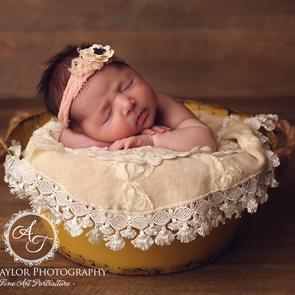 Vintage Newborn Photographer