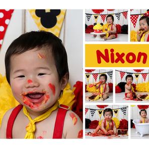 The Cake Smash Professional - Nixon