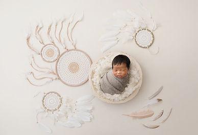 Newborn Baby Dream Catcher