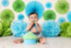 First Birthday Cake Smash | Cake Smash Photography