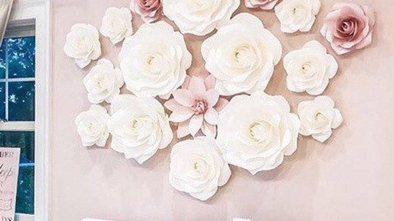 PAPER FLOWERS ANASTASIA