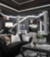 interior, design, wall paint