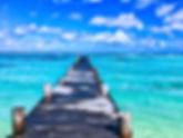 mexico, beach, jetty, travel