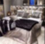 bedroom, bed, cushions, interior