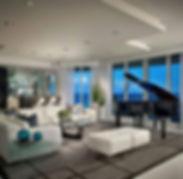 view, apartment, luxury, piano