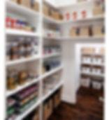pantry, organising, boxes