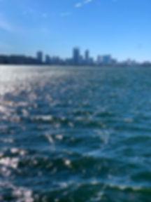 swan river, perth city, river, cruise