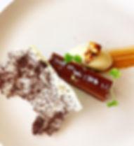 food, dessert, chocolate, chef