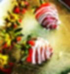 strawberries, chocolate