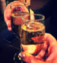 champagne, drinks