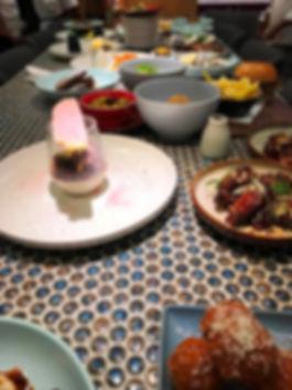 Beccaria restaurant, tasting, plates