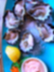 oysters, lemon, entree
